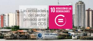 ODS 10 y sector privado.
