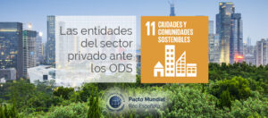 ODS 11 y el sector privado