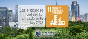 ODS 11 y el sector privado