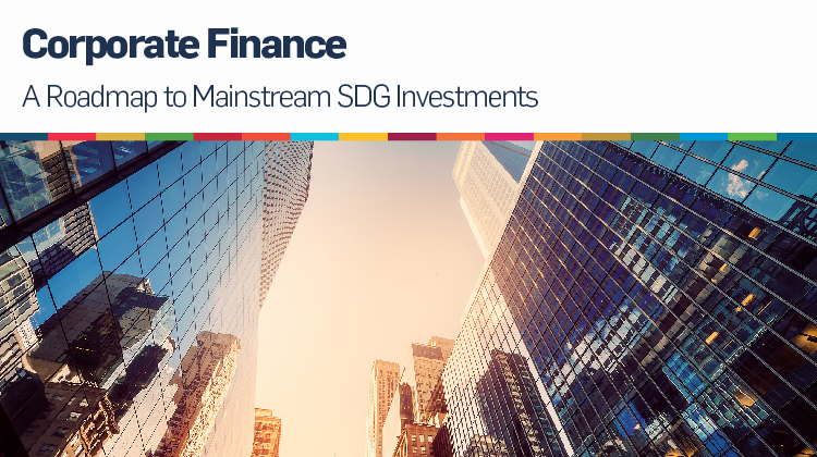 Finanzas corporativas alineadas con los ODS
