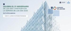 5º aniversario de los ODS