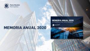 Memoria de actividades de 2020